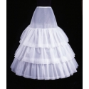 Image of Petticoat -3 Hoops, 4 Layers