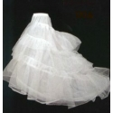Image of Tulle Crinoline with Train